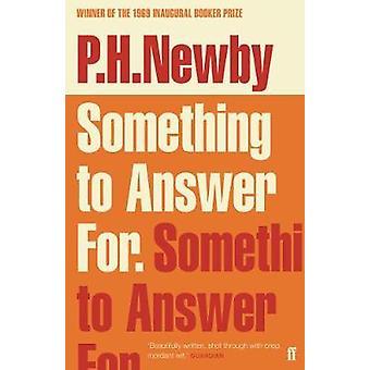Något till svar för av något till svar för - 9780571348275 Bo