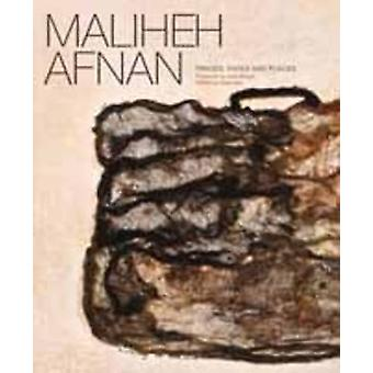 Maliheh Afnan - Traces - Faces - Places by Rose Issa - 9780863564864 B