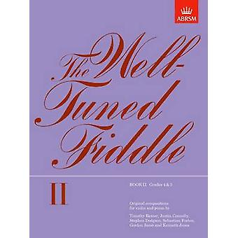 The Well-tuned Fiddle - Book II by ABRSM - 9781854721280 Book