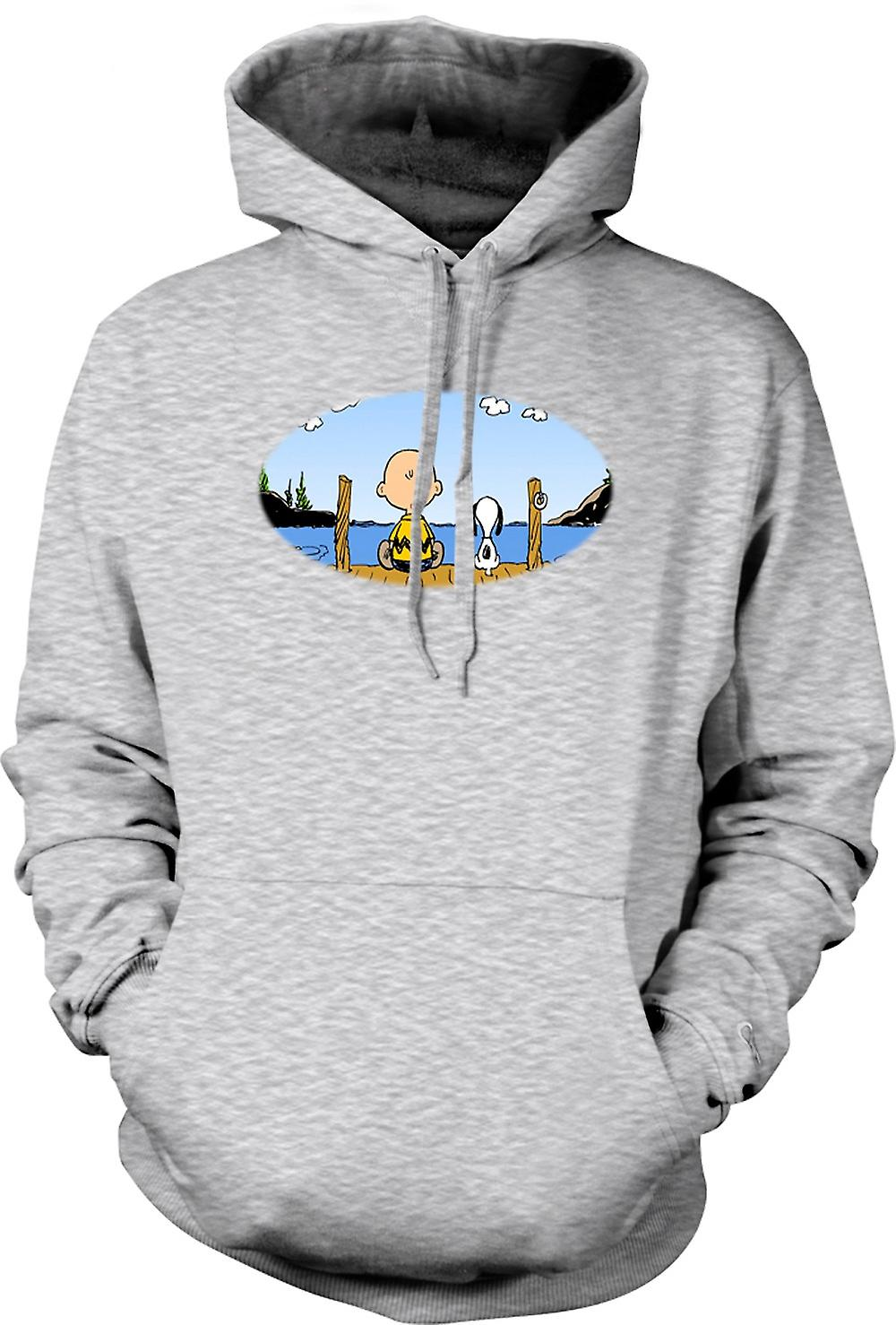 Mens Hoodie - Snoopy - Cartoon