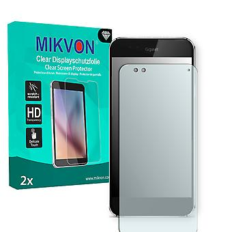 Gigaset ME Screen Protector - Mikvon Clear (Retail Package with accessories) (reduced foil)