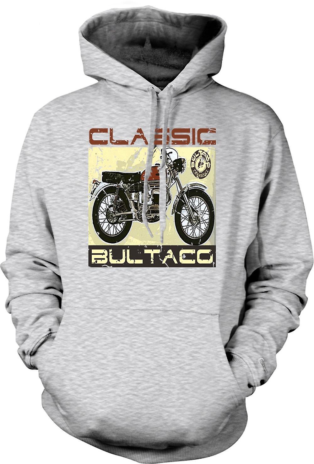 Mens hettegenser - Bultaco Classic Dirt Bike