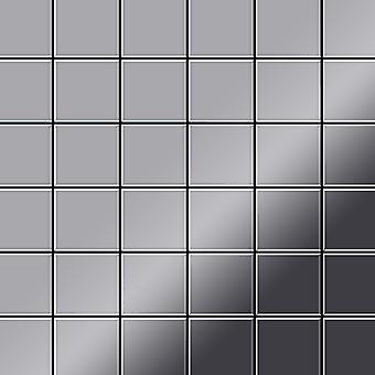 Metal mosaik rustfri LEGERING Cinquanta-S-S-MM
