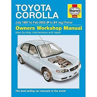 Toyota Corolla Petrol Service and Repair Manual: 1997 to 2002 (Haynes Service and Repair Manuals)