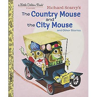 Richard Scarry's The Country Mouse and the City� Mouse (Little Golden Book)