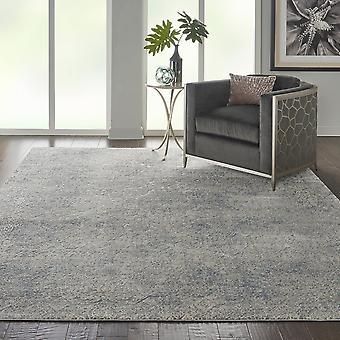 Texturas rústicas RUS09 rectángulo azul luz marfil alfombras alfombras modernas