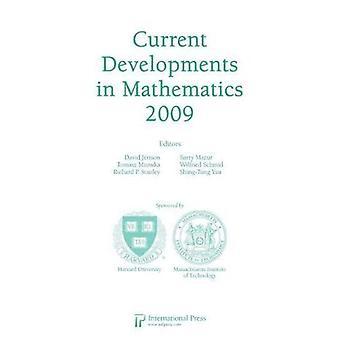 Current Developments in Mathematics, 2009