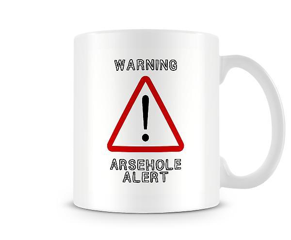 Warning A***hole Alert Mug