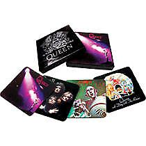 Queen drinks coaster box set