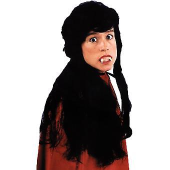 Vampira Wig For Halloween