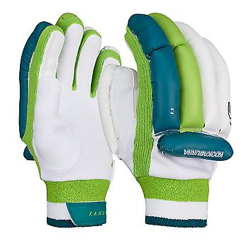 Kookaburra 2019 Kahuna 5.0 Cricket Batting Gloves White/Green