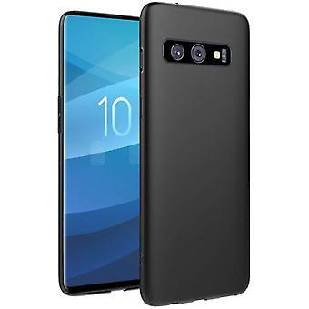 Samsung Galaxy S10E   Dünn, matt-schwarzes Gehäuse