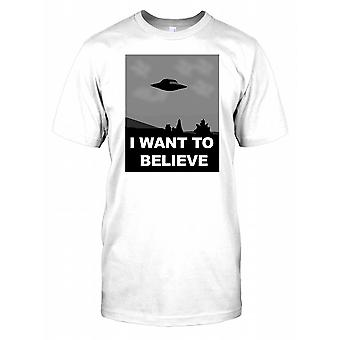 UFO - I Want to Believe Poster Kinder T Shirt