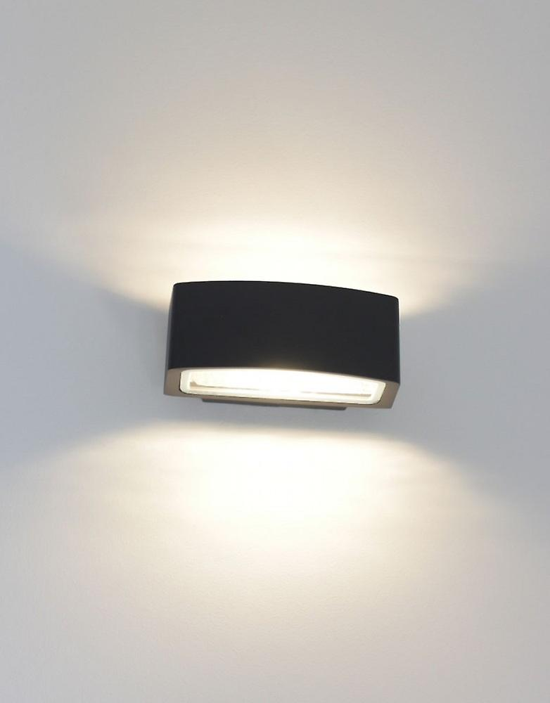UpDown Wall lamp wide dark grey 10655 IP54 E27