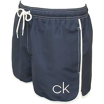 Calvin Klein CK athletische Schnitt Swim Shorts, Navy