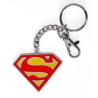 DC Comics Superman Colour Logo Keychain