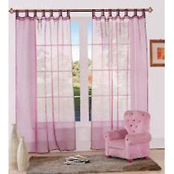 Comfort Collection Eyelet Curtain-Organza
