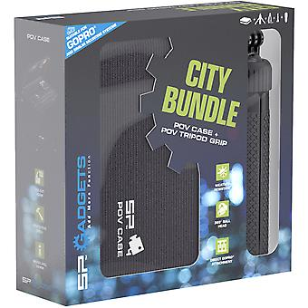 SP City Bundle - POV Case and POV Tripod Grip for GoPro cameras