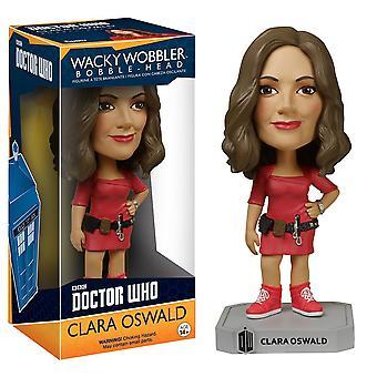 Doctor Who Clara Oswald Wacky Wobbler