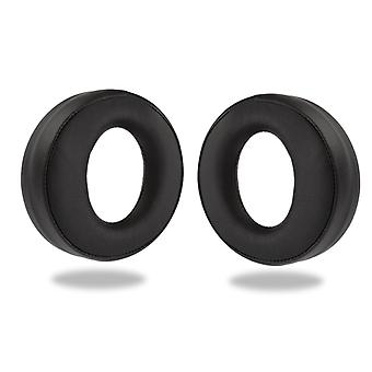 REYTID Replacement Ear Pads Kit for Sony PS3/PS4 Wireless Gold Gaming Headset Cushions - Black - Playstation
