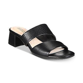 Alfani Womens Eviee Open Toe Casual Slide Sandals