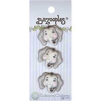 Bazooples Buttons Elsie The Elephant Bz 123