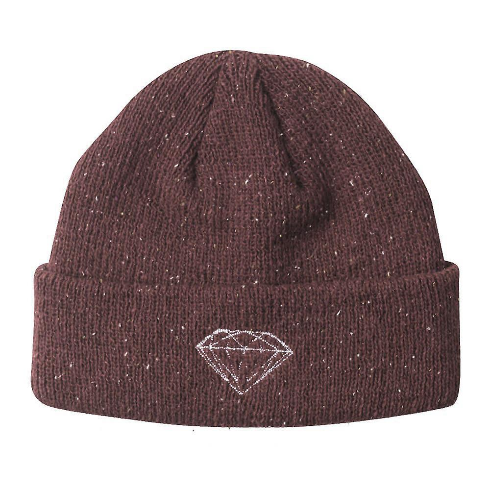 Diamond Supply Co Brilliant Beanie Burgundy