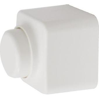 Surface-mount dimmer Suitable for light bulbs: Light bulb, Halogen lamp Pure white Ehmann 3061c0150