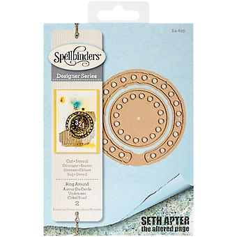Spellbinders Shapeabilities stirbt-Ring rund um S4625