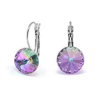 Crystal earrings Vitrail Light EMB 1.10