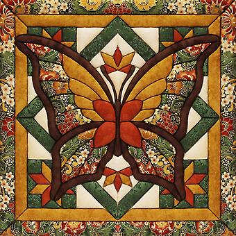 Fall Butterfly Quilt Magic Kit-12