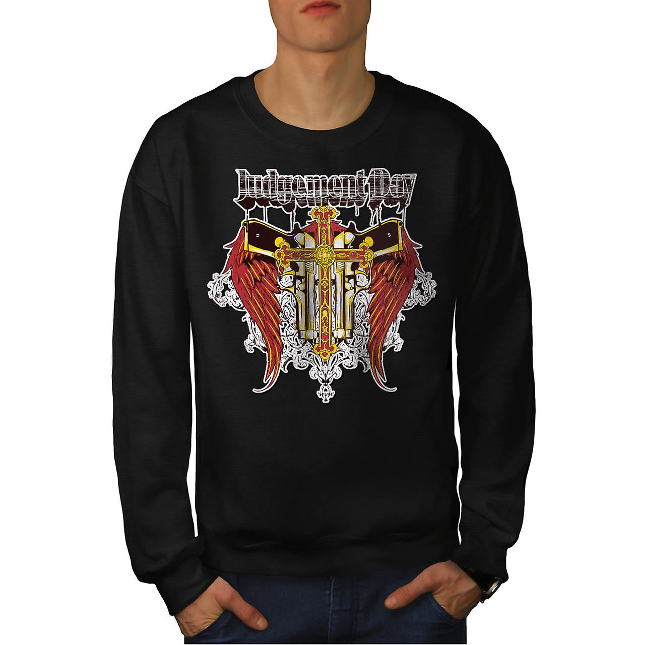 Judgement Day Hell Devils Lair Men Black Sweatshirt | Wellcoda