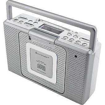 FM Radio/CD SoundMaster BCD480 AUX, CD, FM splashproof Silver