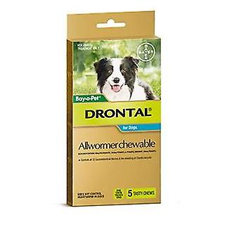 Drontal Chewable 10kg 5pack