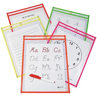 Reusable Dry-Erase Pockets 9