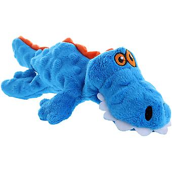 goDog Gator with Chew Guard Small-Blue 774018