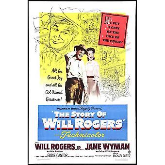 История печати плаката фильма Уилл Роджерс (27 x 40)