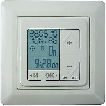 Flush mount timer/power strip digital 7 day mode Müller 01347 400 W IP20 Holiday program mode