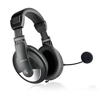 SPEEDLINK Thebe Stereo Headset sort (SL-8743-BK)