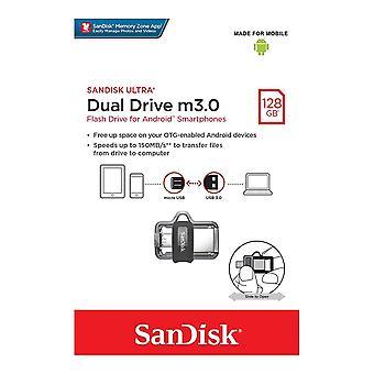 SanDisk 128GB Ultra Dual USB 3.0 Drive - SDDD3-128G-G46