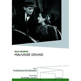 Mauvaise Graine [DVD] USA importerer