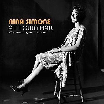 Nina Simone - At Town Hall/Amazing Nina Simone [CD] USA import