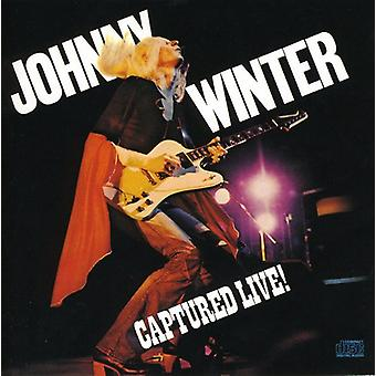 Johnny Winter - erfasst [CD] Live USA import