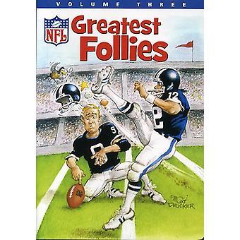 Vol. 3-NFL største tåbeligheder [DVD] USA importerer