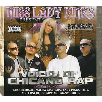Miss Lady Pinks præsenterer - stemmer af Chicano Rap [CD] USA import