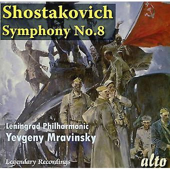 D. Shostakovich - Shostakovich: Symphony No. 8 [1982 Recording] [CD] USA import
