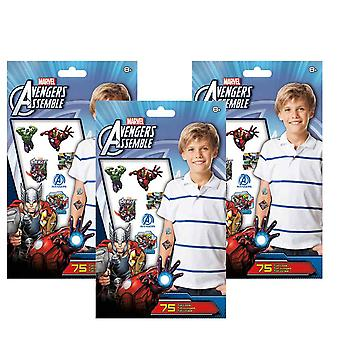 The Avengers samle tatovering sæt [3 Pack]
