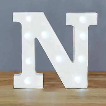 LED letter - Yesbox lights letter N