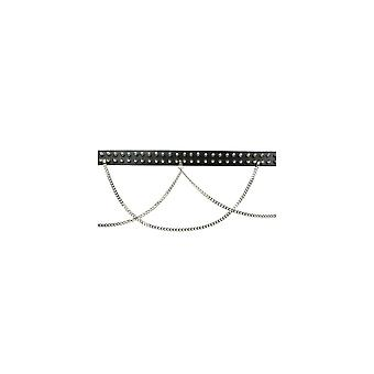 Bullet 69 2 Row Spike Stud Chain Belt