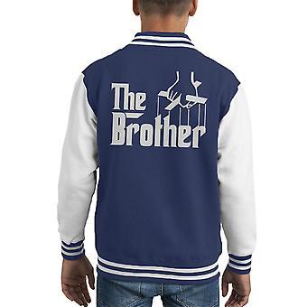 Fadder bror Kid Varsity jakke